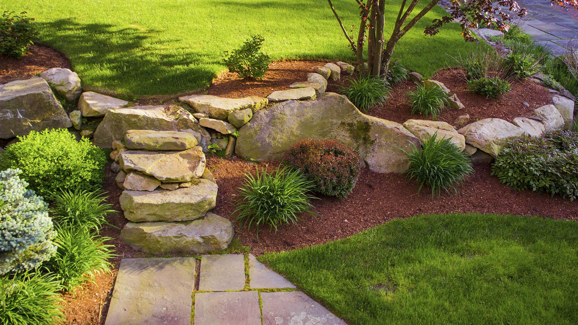 Tri Stars Landscaping And Snow Services LLC Landscaping, Mulching and Retaining Walls slide 3